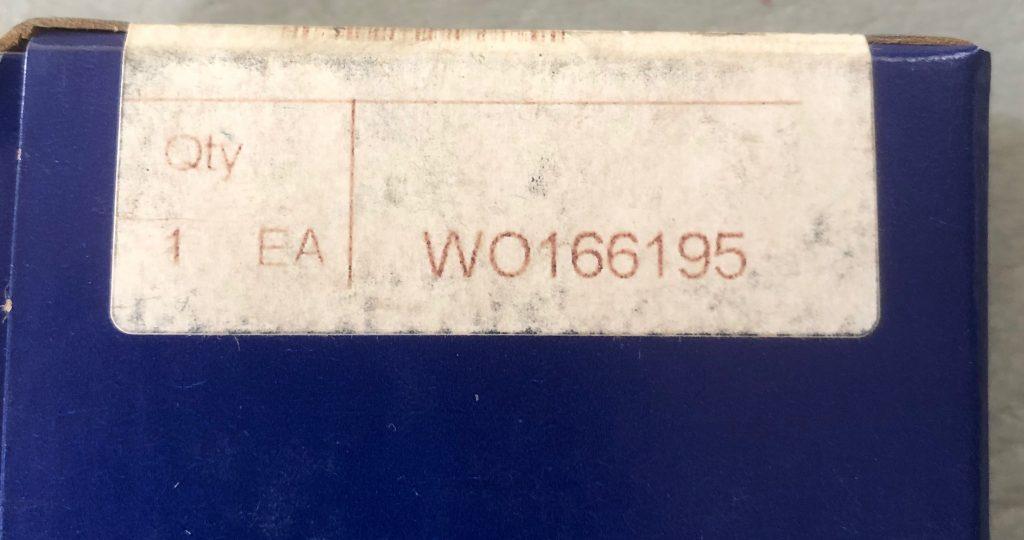 Jabsco Pump 43210 Bearing