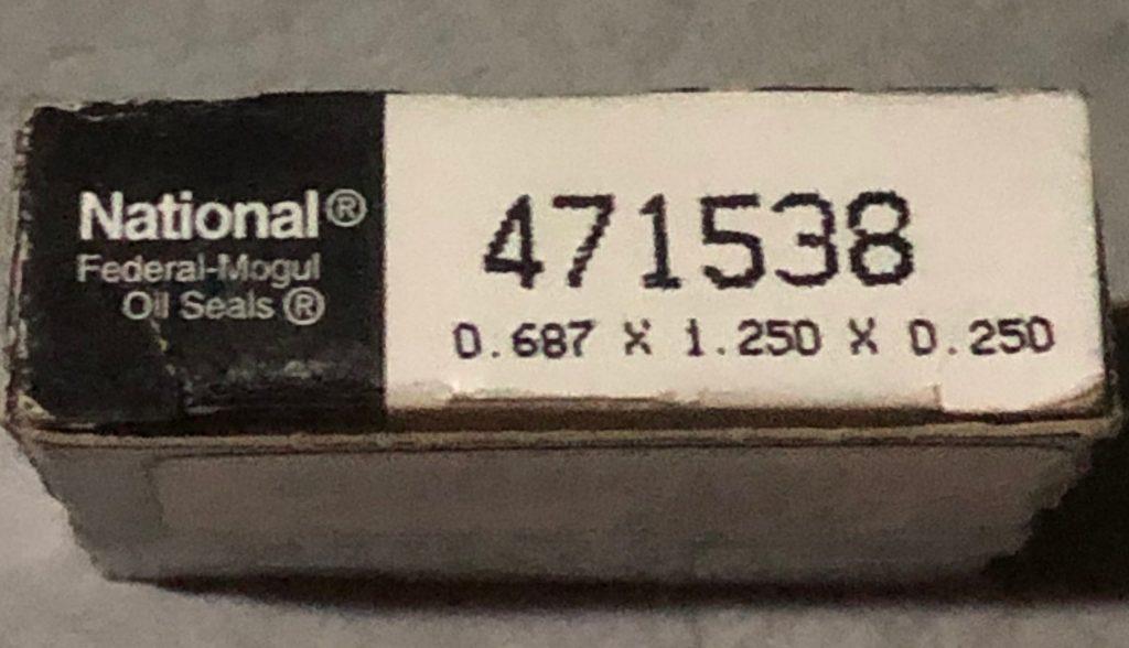 Jabsco Pump 43210 Shaft Seal