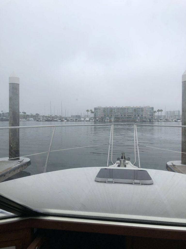 View from guest dock, Marina del Rey