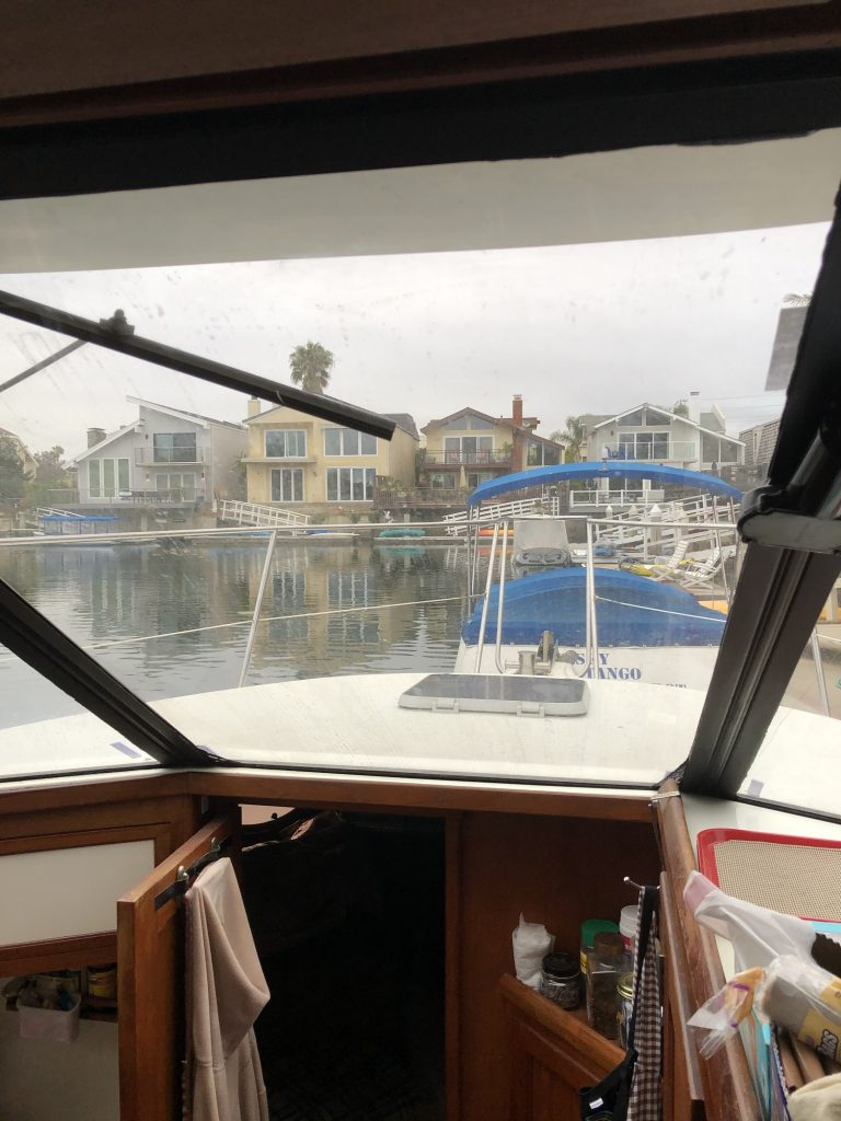 Parked in Channel Islands Harbor