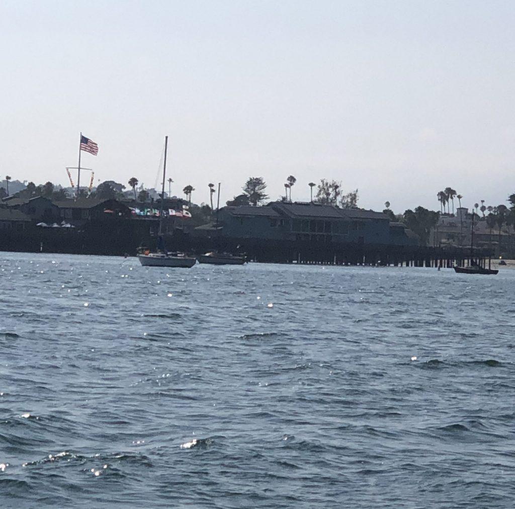 Santa Barbara Pier adjacent to anchorage