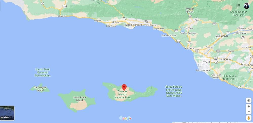 Santa Cruz Island to Santa Barbara