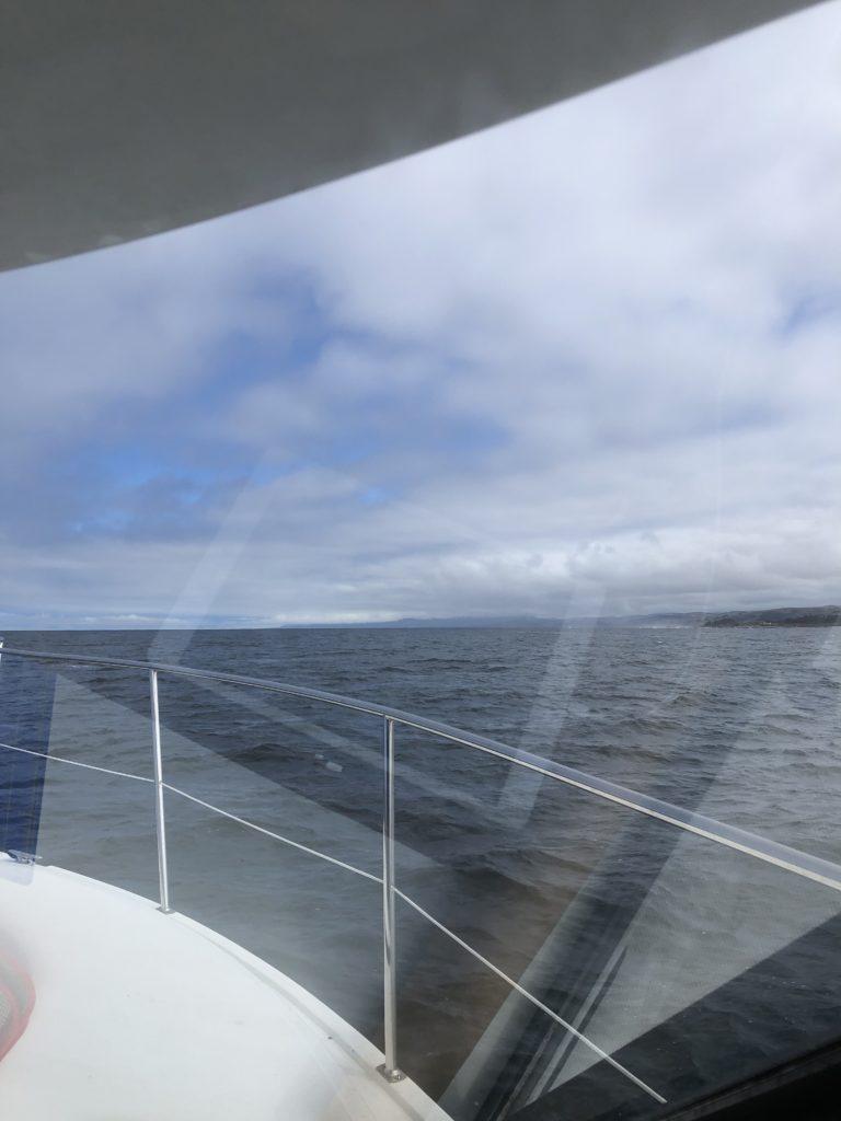 Approaching Half Moon Bay