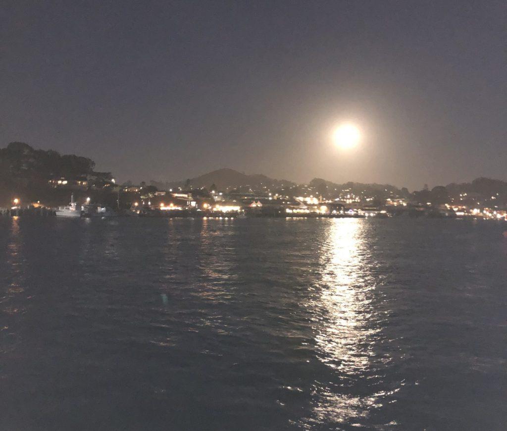 Morro Bay Moon Rise
