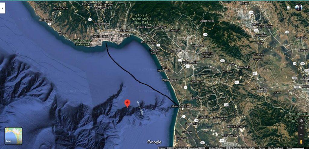 Moss Landing to Santa Cruz